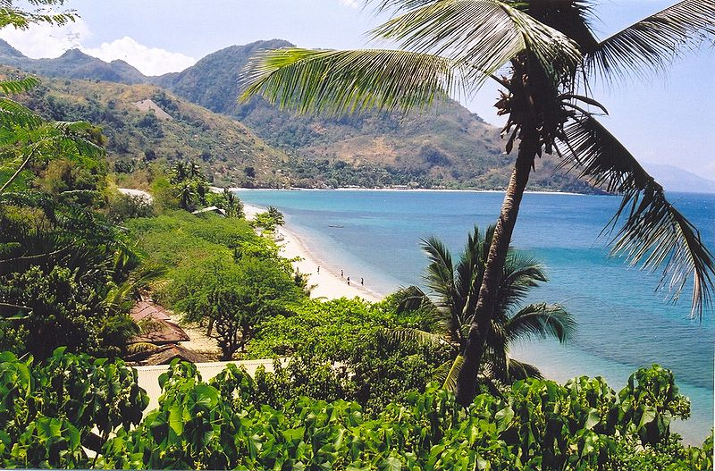 Fun Facts for Kids on Philippines - Image of Mindoro Beach in the Philippines