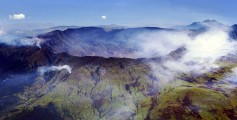 Fun Facts for Kids on the Most Lethal Volcano Eruptions - the View of Mount Tambora During the Eruption