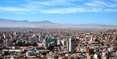 Fun Geography for Kids on Bolivia - Image of Oruro City in Bolivia