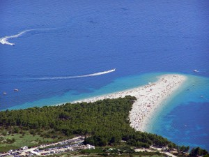 Fun Geography for Kids on Croatia - Image of a Beach in Croatia