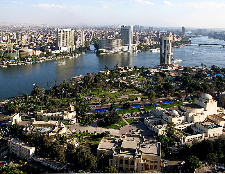 Fun Geography for Kids all about Egypt - Image of Cairo, the Capital of Egypt
