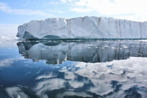 Fun Geography for Kids on Ice Sheets and Glaciers - Image of Greenland Ice Sheets