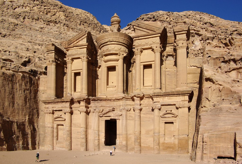 Fun Geography for Kids on Jordan - Image of Petra Jordan
