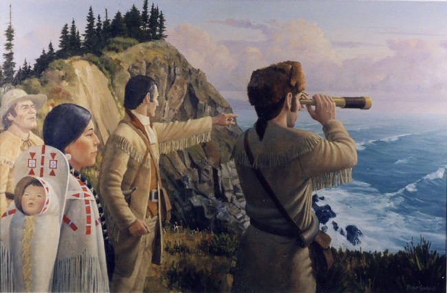 the expedition of lewis and clark Witness lewis and clark's exploration of the west, complete with diary excerpts, encounters with native americans, the beautiful and threatening landscape, and a.