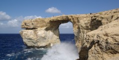 Fun Kids Science Facts on Malta - Image of the Malta Gozo Azure Window