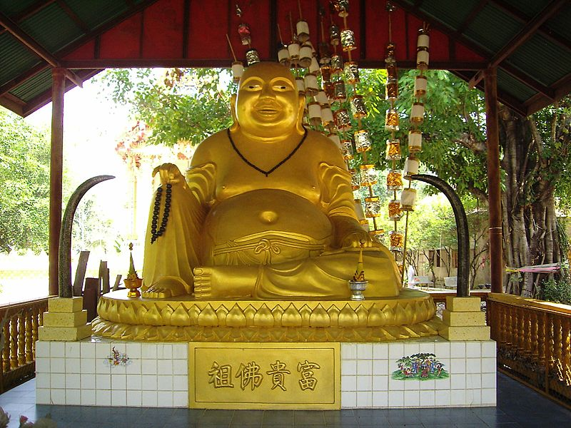 Fun Kids Science Facts on Thailand - Image of a Buddhist Statue in Thailand