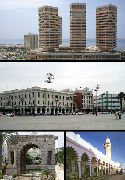 Fun Science Facts for Kids on Libya - Image of Tripoli City the Capital of Libya