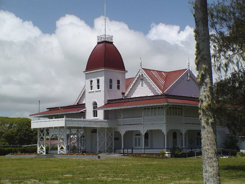 Fun Science Facts for Kids on Tonga - Image of a Royal Palace in Tonga - Tonga Worksheet
