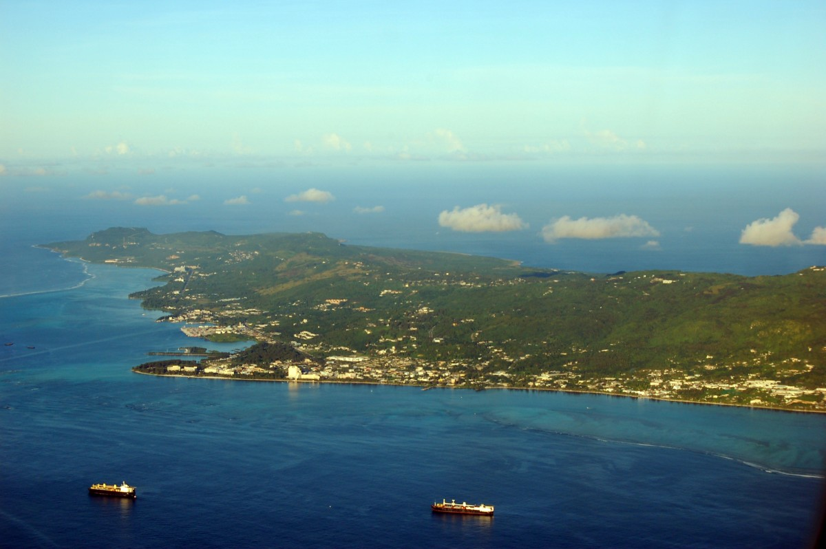 Geography Fun Facts for Kids on Northern Marianas - Image of Saipan in Northern Marianas - Northern Marianas Worksheet