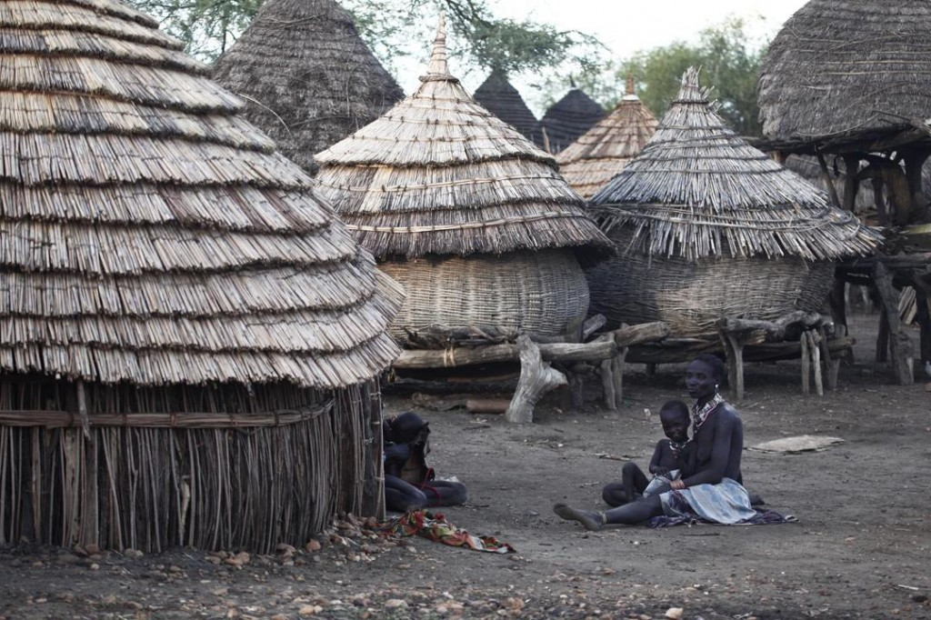 Geography Fun Facts all about Sudan and South Sudan - Village in South Sudan