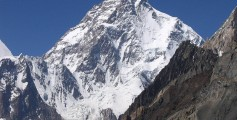 Geography Fun Facts for Kids All about the Tallest Mountains in the World - image of K2 Mountain
