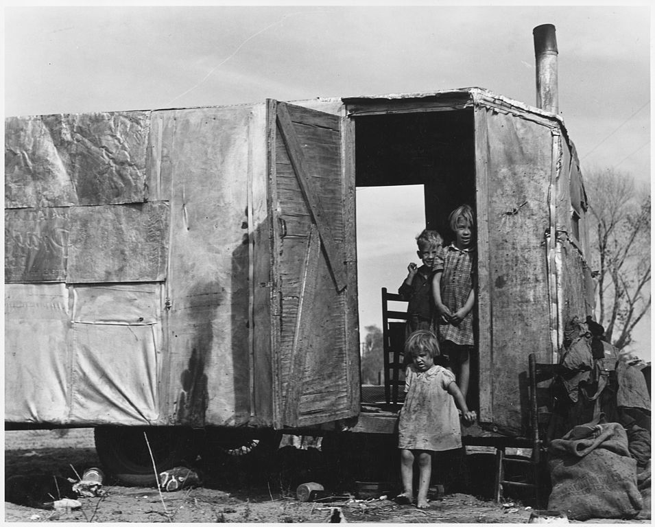 Kids Science Fun Facts on Dust Bowl - People Migrating from the Dust Bowl image