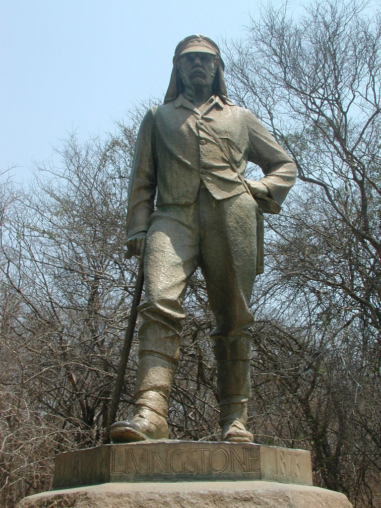 Kids Science Fun Facts All about Famous Explorers - Image of the Statue of David Livingstone