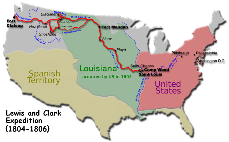 lewis and clark fun facts for kids