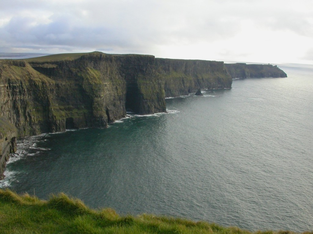 Simple Science for Kids on Ireland - Image of the Ireland Cliffs of Moher