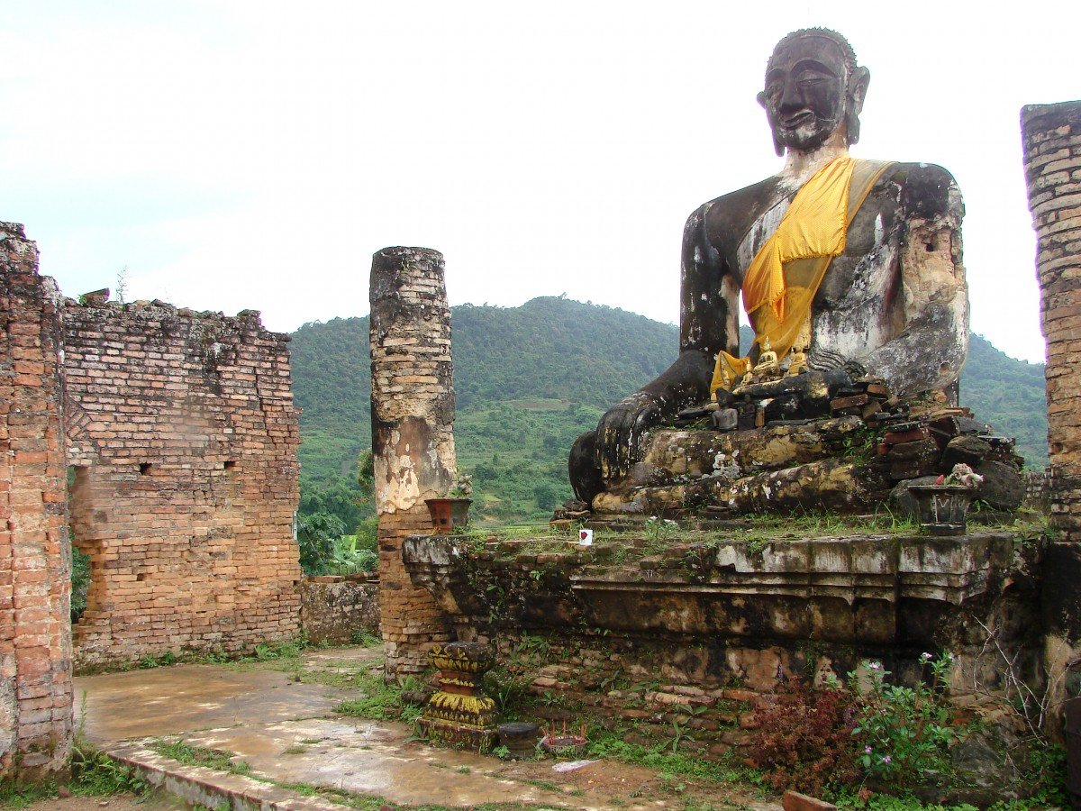 Simple Science for Kids on Laos - Image of Buddhist Religion in Laos - Laos Quiz