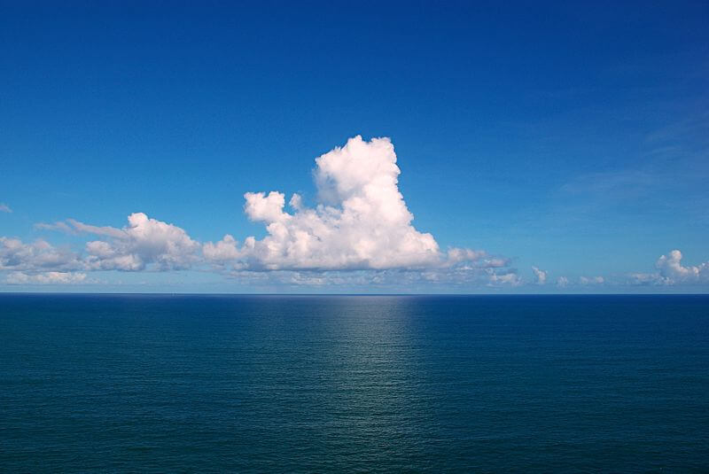 What are some facts about Atlantic Ocean geography?