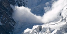 All about Avalanche Fun Science Facts for Kids - Snow Avalanche image