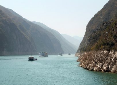 All about China Fun Geography Facts for Kids - Image of the Yangtze River