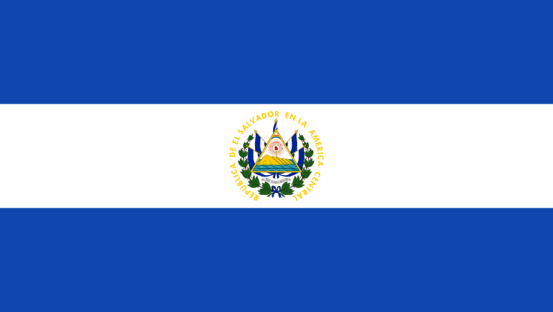 All about El Salvador Easy Science for Kids - National Flag of El Salvador