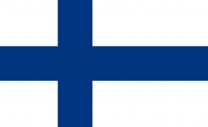 All about Finland Fun Facts for Kids - National Flag of Finland image