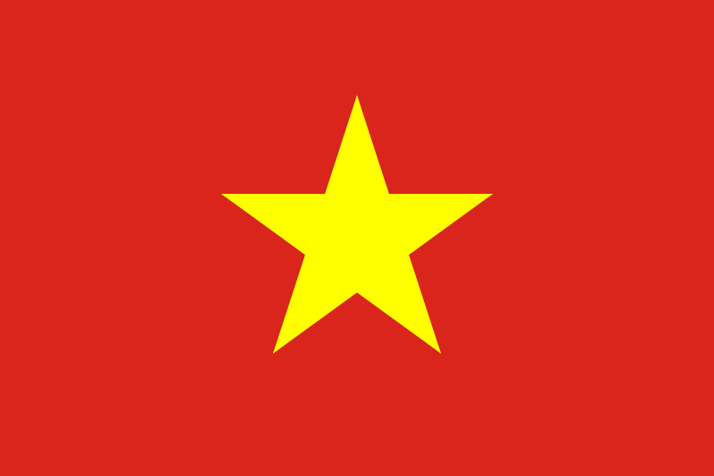 All about Vietnam Fun Science Facts for Kids - National Flag of Vietnam