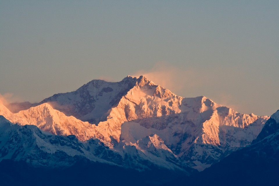 All about the Tallest Mountains in the World Quiz for Kids - Image of Kanchenjunga in India