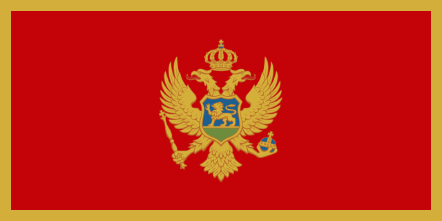 Earth Science Fun Facts for Kids All About Montenegro - the National Flag of Montenegro