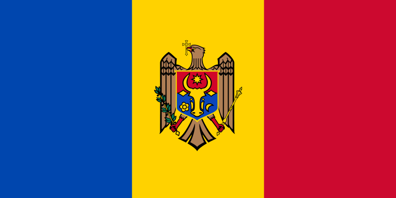 Easy Geography for Kids All About Moldova - the National Flag of Moldova