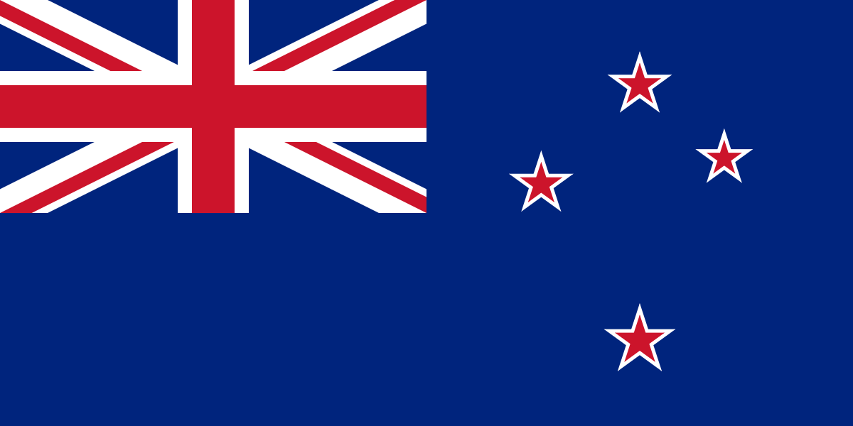 New Zealand Quiz - Image of the National Flag of New Zealand