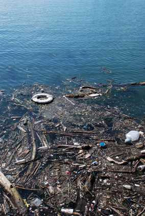 Easy Science Kids Facts about Pollution - Image of a Water Pollution - Pollution Quiz