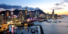 Easy Science for Kids All about the Top 10 Wealthiest Countries in the World - Hong Kong City Skyline image