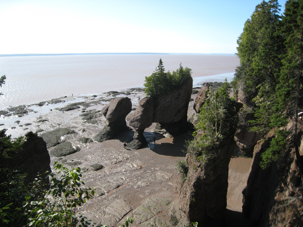 Fun Earth Science Facts for Kids on the Natural Wonders of the World - Image of the Bay of Fundy in Canada