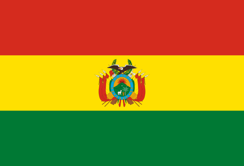 Fun Earth Science for Kids All About Bolivia - the National Flag of Bolivia