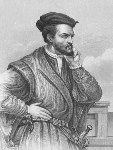 Geography for Kids All About Jacques Cartier Facts - Image of Jacques Cartier