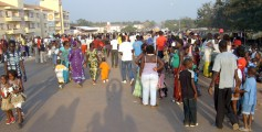 Fun Facts for Kids on Guinea-Bissau - Image of the People in a Carnival at Guinea-Bissau