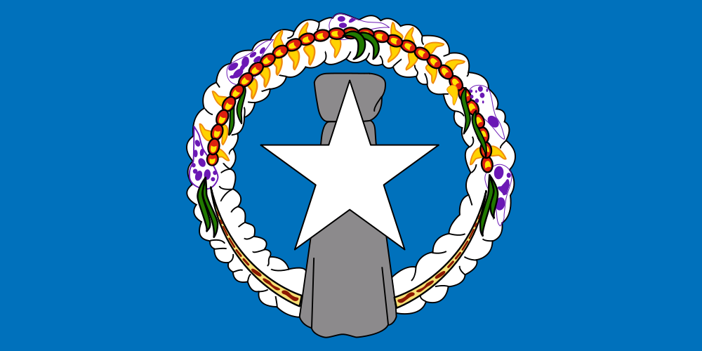 Northern Marianas Quiz - Image of the National Flag of Northern Marianas