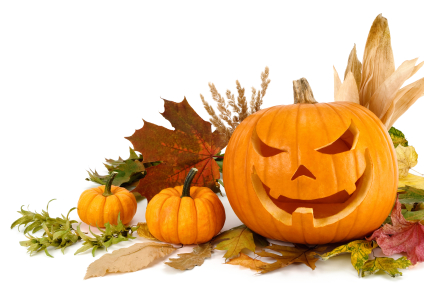 Geography Fun Facts for Kids All About Halloween in Ireland - Image of Halloween Pumpkins - Halloween in Ireland Quiz
