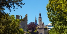 Geography Fun Facts for Kids All About Luxembourg - Image of a Luxembourg Castle