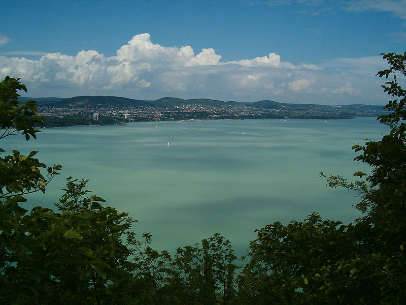 Geography Fun Facts for Kids on Hungary - Image of the Lake Balaton in Hungary