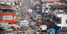 Geography for Kids All About Liberia - Image of Downtown Monrovia, Liberia