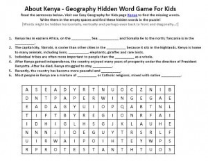 Geography worksheets for 7th grade