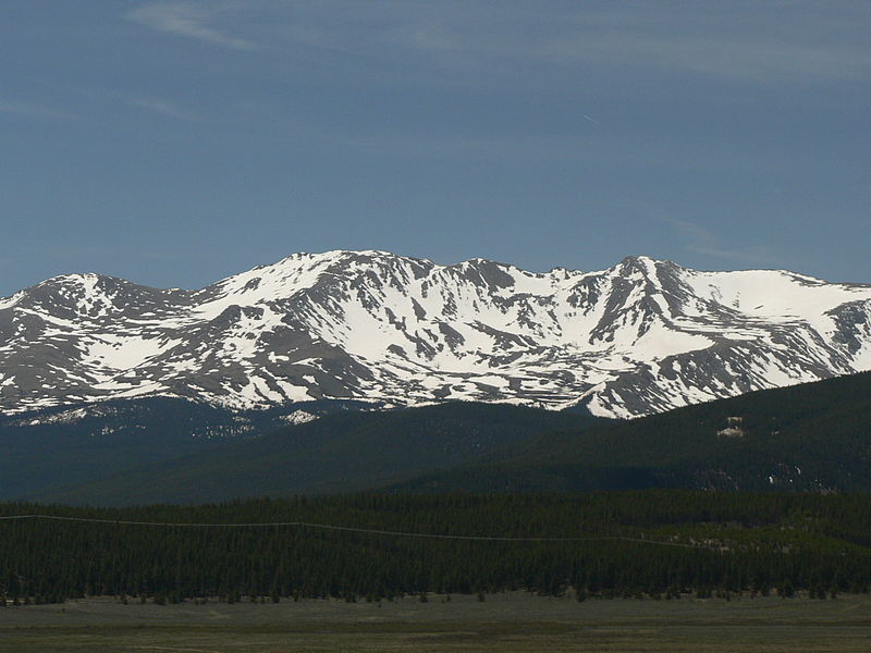 Mount Massive in the Rocky Mountains of Colorado