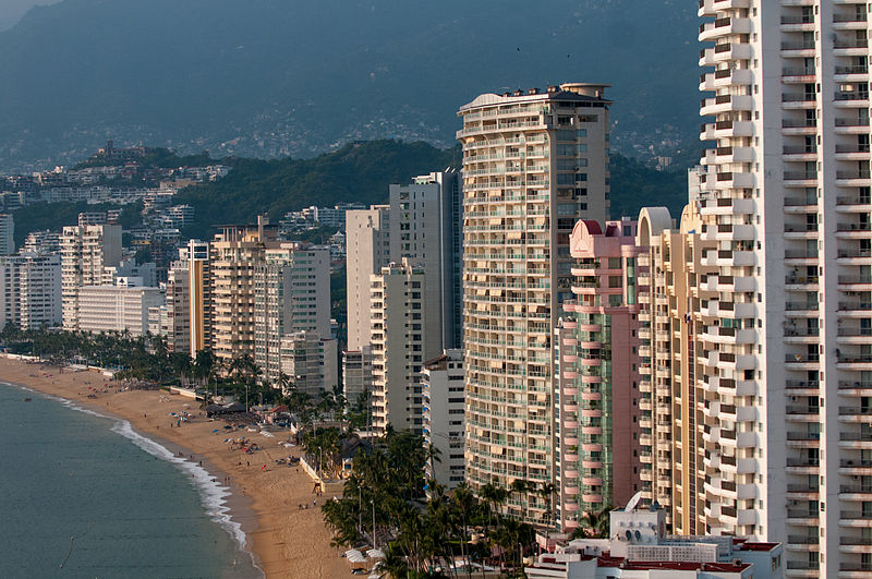 Simple Science for Kids on Mexico - Image of the Acapulco Bay