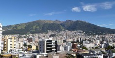 Image of the Quito Capital in Ecuador