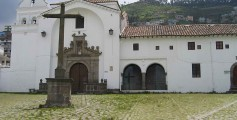 Image of a Historical Spanish Chapel in Quito