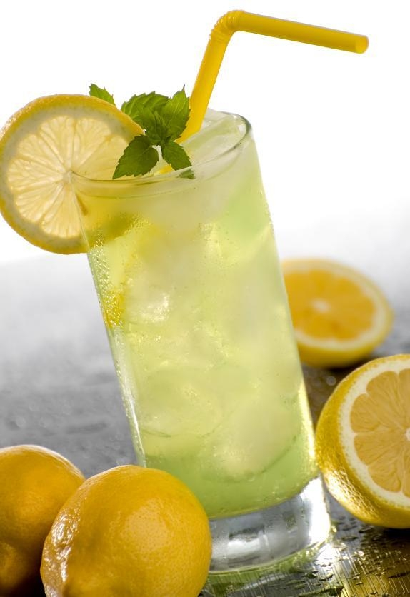 image of a glass of lemonade easy science for kids