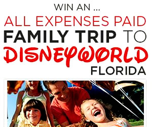 Win a family Disney Trip!
