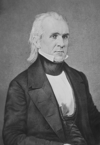 Image of James K. Polk - 11th U.S. President