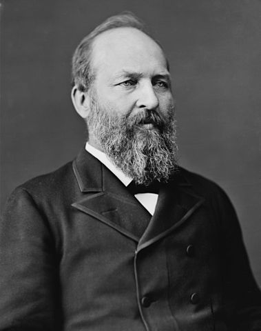 James-A.-Garfield-20th President of United States